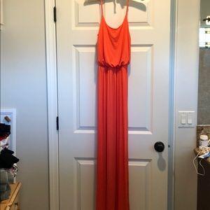 NWOT Lush Maxi dress